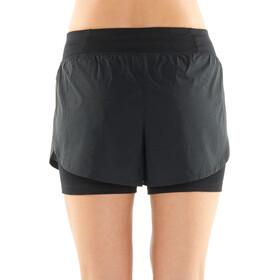 Icebreaker Impulse Training Spodnie krótkie Kobiety, black